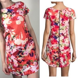Yumi Kim Elana Floral Shift Zipper Dress small